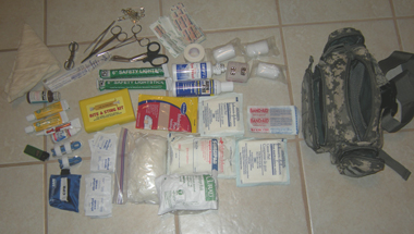 firstaidfannypack Some First-Aid Kit Examples