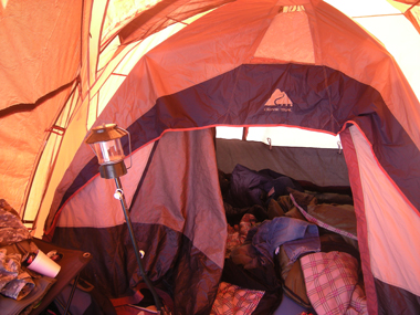 tentintent2sm Winter/Snow Camping Ideas and Tips