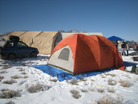 wintercamptiny Winter/Snow Camping Ideas and Tips